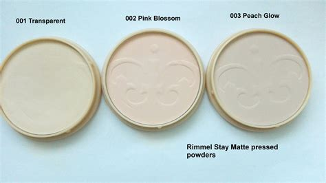 Rimmel Stay Matte Shade Transparan rimmel stay matte pressed powders 001 002 and 003 palemua