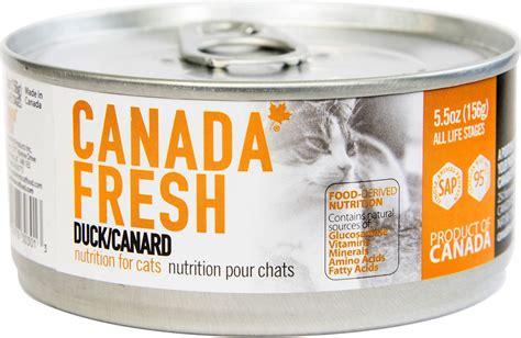 so cat food canada canada fresh duck canned cat food 5 5 oz of 24