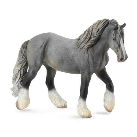Wars Spielzeug Hasbro 766 by Figurine Cheval Jument Shire Gris Jeux Et Jouets