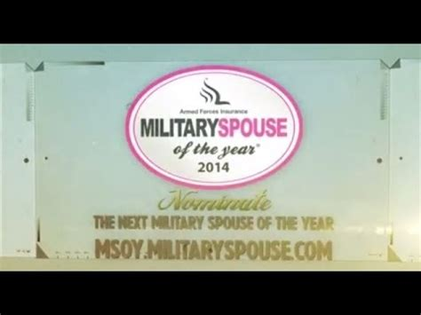 spouse of the year nominee armed forces insurance spouse of the year 2014