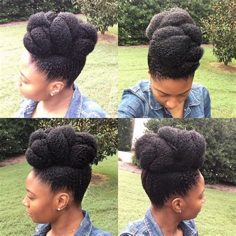 Protective Hairstyles For Hair 2017 by 10 Gorgeous Pineapple Updo Hairstyles