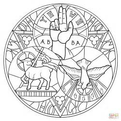 holy trinity coloring page free printable coloring pages
