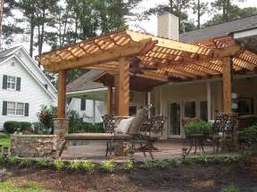 Garden Pergolas Ideas by Triyae Com Backyard Pergola Designs Various Design