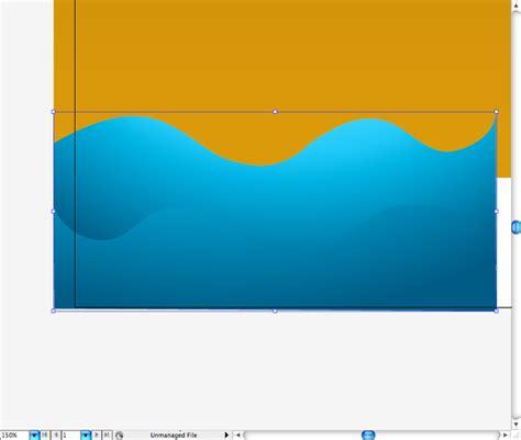 illustrator tutorial waves create a lava island scenario in illustrator