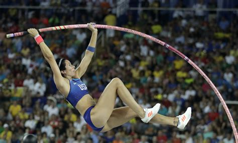 the pole vault chionship of the entire universe books a sick jenn suhr can t defend title in olympic pole vault