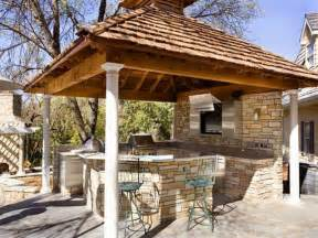 outdoor small rustic outdoor kitchen designs rustic