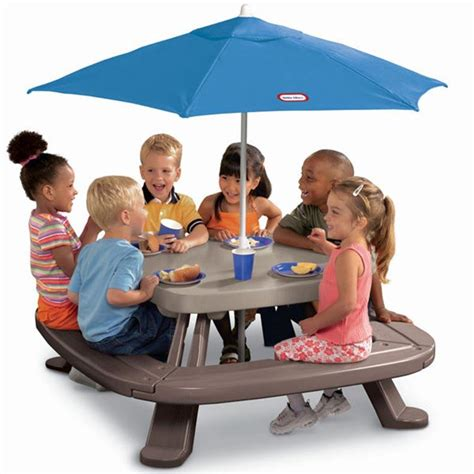 little tikes fold n store picnic table kids picnic table with umbrella photos ideas rilane