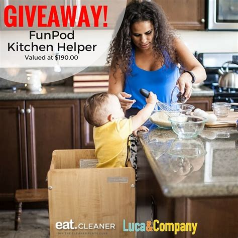 Funpod Kitchen Helper by Giveaway Funpod Kitchen Helper The Kitchen With