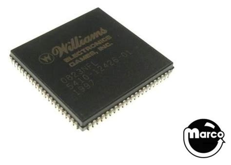 asic integrated circuits ic asic williams wpc cpu chip 5410 12426 01 marco pinball parts