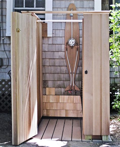 How To With A Shower by Outside Shower Ideas Homesfeed