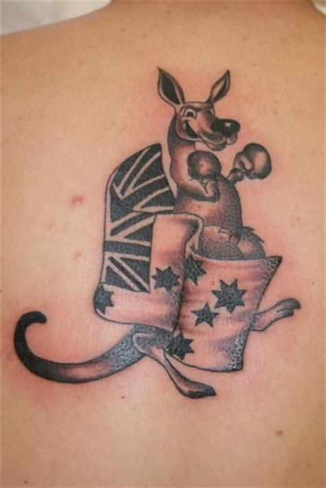 tattoo gallery adelaide australian flag and kangaroo picture dad s tattoo ideas
