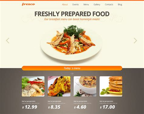 30 Best Restaurant Joomla Templates Free Download Best Food Templates