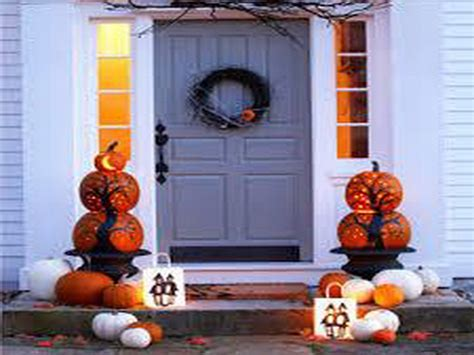 budget fall decorating ideas door ideas fall home tour fall outdoor decorations walmart cement patio fall