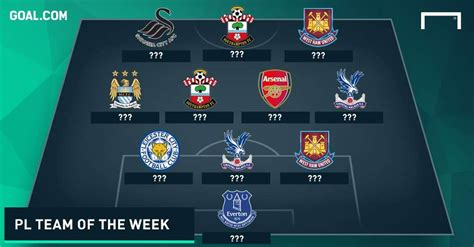 epl goal of the week premier league team of the week matchday 4 goal com