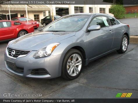 grey nissan altima coupe gray 2010 nissan altima 2 5 s coupe charcoal
