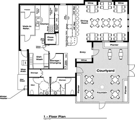 1000 Images About Commercial Floor Plans On Pinterest | 1000 images about pizzeria architecture on pinterest