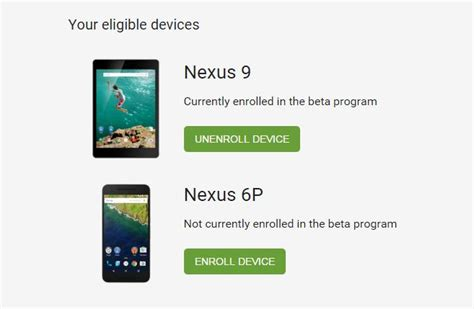 android beta program beta testers to get android n ota updates manual won t