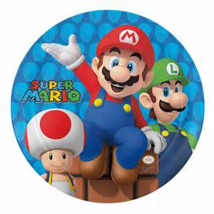 Best Barware Glasses Super Mario Brothers Kids Plates By Zak