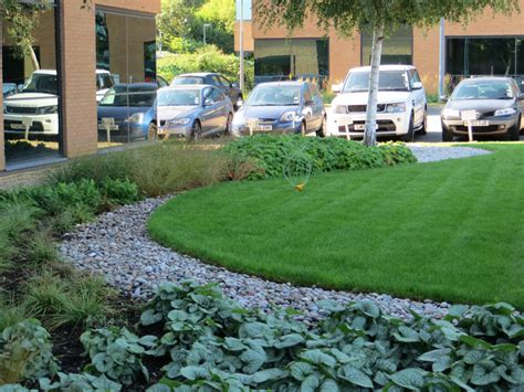 the landscape company commercial landscaping portfolio odyssey business park the garden company