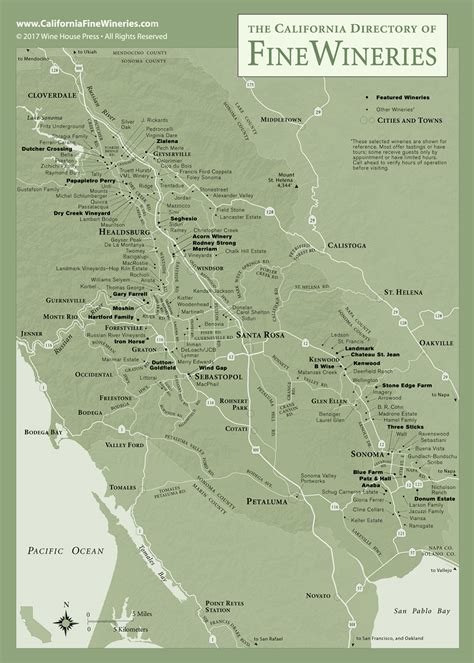 florida wine country guide to northern wineries books sonoma county map of california wineries
