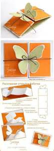 wonderful diy butterfly greeting card