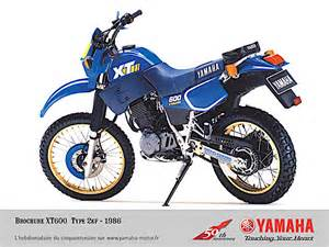 yamaha xt 600 curiosit 224 scheda e foto di tutti i modelli