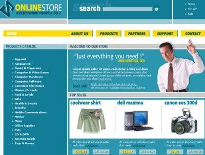 Homepage Template Vorlagen Free Website Templates Dr Web