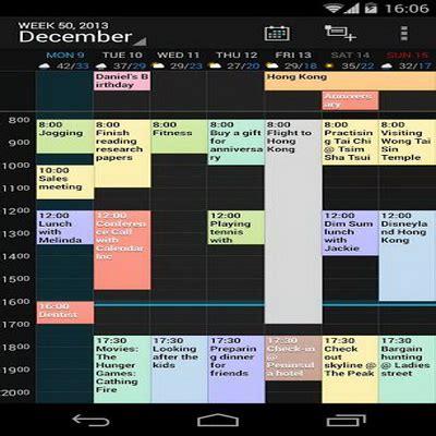 ide untuk membuat aplikasi android lima aplikasi kalender terbaik dan gratis untuk android