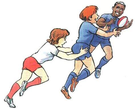 imagenes de niños jugando rugby dibujo de rugby imagui