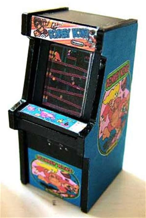 Arcade Desk by Tiniest Vintage Arcade Pinball Machine Models For Your Desk