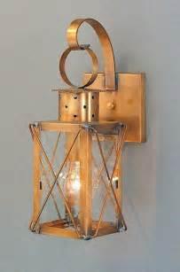Lantern Sconces Dock Lantern Copper Colonial Period Wall Lanterns