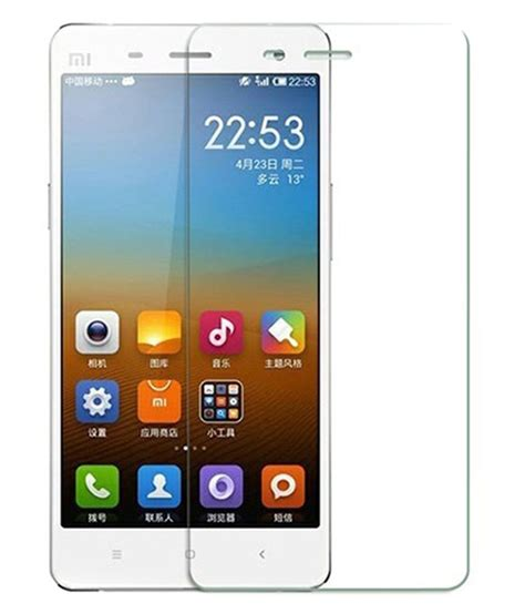 Tempered Glass Mi4i xiaomi mi4i tempered glass screen guard by ygs mobile screen guards at low prices