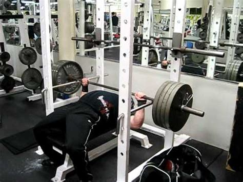 bench press lockout bench press lockout video low pin youtube