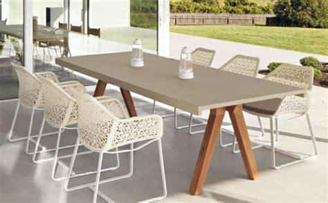 mobilier jardin design table de jardin design