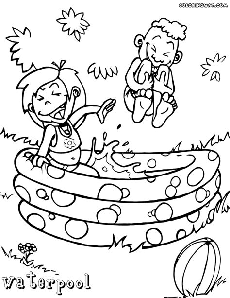 dora swimming coloring pages pool coloring pages coloring pages to download and print