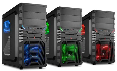 Casing Sharkoon Dg7000 Blue Atx sharkoon announces vg4 series entry level techpowerup