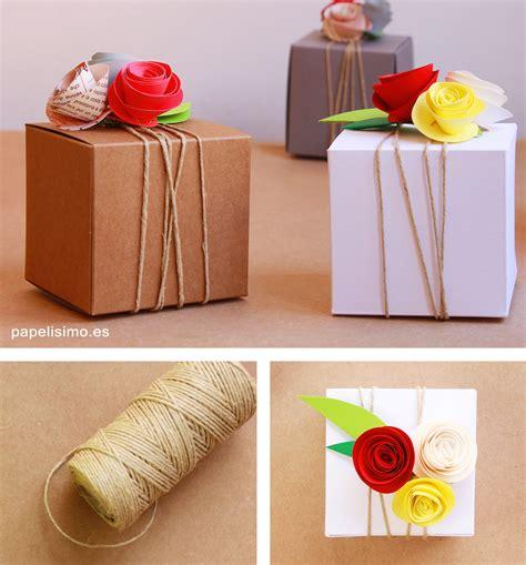 decorar regalos con fotos envolver regalos sin papel de regalo papelisimo