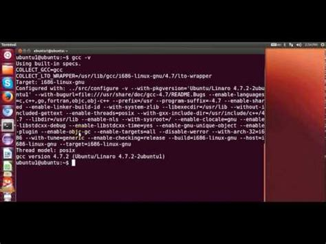 tutorial gcc linux how to install gcc compiler on ubuntu the right tutorial