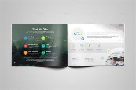 profile design company inc company profile landscape brochure template by generousart