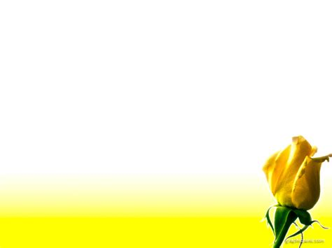 flowers powerpoint template yellow ppt background powerpoint backgrounds for free