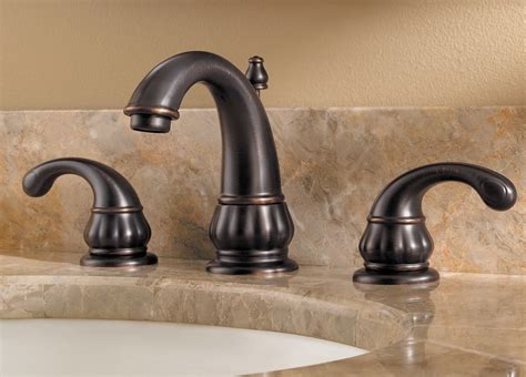 bronze bathroom faucets pfister treviso 2 handle 8 quot widespread bathroom faucet