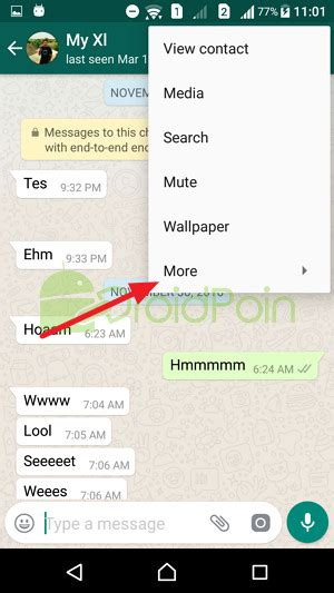 reset android whatsapp cara reset chat di whatsapp android droidpoin