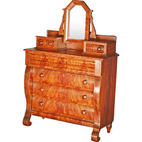 Childs Chest Of Drawers child s empire chest of drawers from antiquesonhanover on ruby