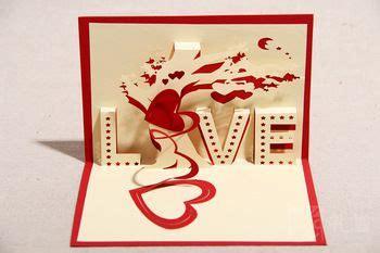 free 3d valentines card templates 3d criativo dia dos namorados handmade cart 245 es de papel de