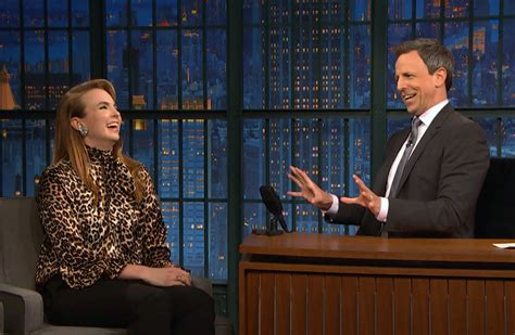 jodie comer seth meyers quot killing eve quot star jodie comer on quot late night with seth