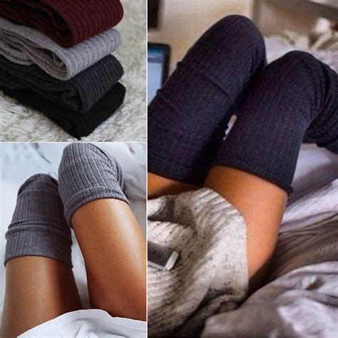 cable knit thigh high socks uk warm knit cable knit knitted crochet