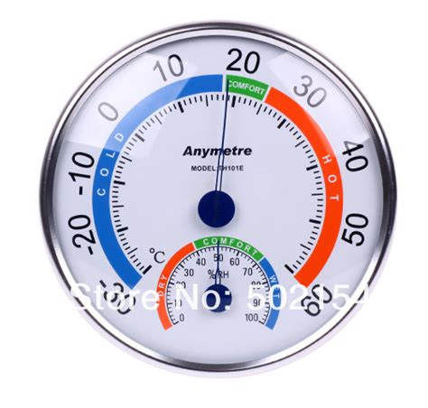 Thermo Hydrometer Anymetre anymetre th101e thermometer and hygrometer for indoor use