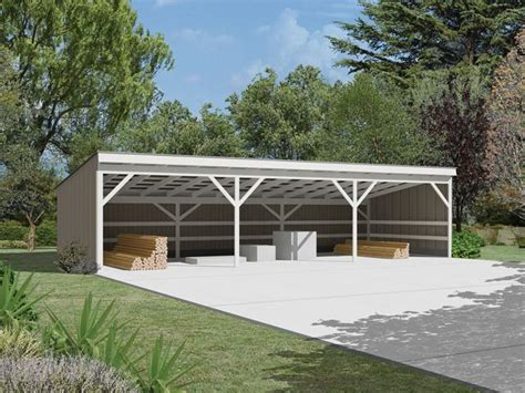 Pole Barn Carport Plans shed for wood implement storage pole shed designs design design carport
