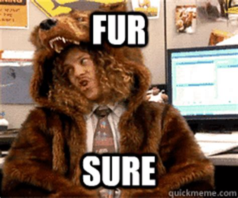 For Sure Meme - fur sure workaholics