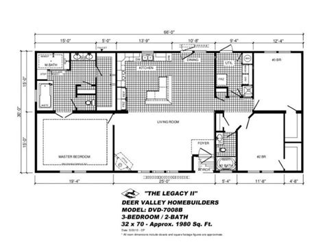 deer valley mobile home floor plans manufactured modular home by 14 deer valley